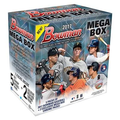 Mlb Bowman Mega Box Baseball Trading Cards Target Inventory