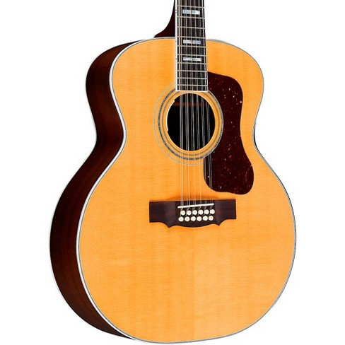 Guild F-512E Jumbo Acoustic-Electric Guitar - image 1 of 4
