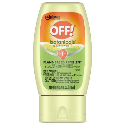 OFF! Botanicals Insect Repellent Lotion - 4oz