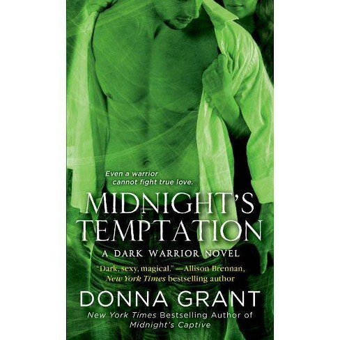 Midnight's Temptation - (Dark Warriors) by  Donna Grant (Paperback) - image 1 of 1