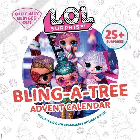 L.O.L. Surprise! Bling-A-Tree Advent Calendar - by  Insight Kids (Hardcover) - image 1 of 1