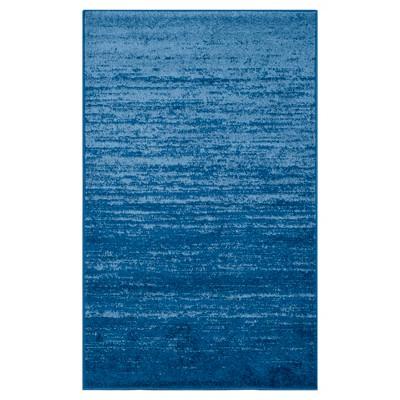Norris Area Rug - Light Blue/Dark Blue (4'x6')- Safavieh