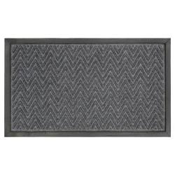 "1'6""x2'6"" Gateway Utility Doormat Charcoal - Mohawk"