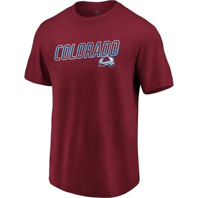 NHL Colorado Avalanche Men's Engage Horizon Short Sleeve T-Shirt - XL