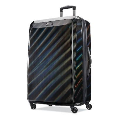 American Tourister 28'' Moonlight Hardside Spinner Suitcase - Iridescent Black