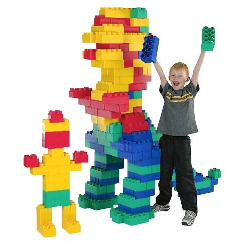 Kids Adventure Jumbo Blocks Jumbo Set - 192 Piece : Target