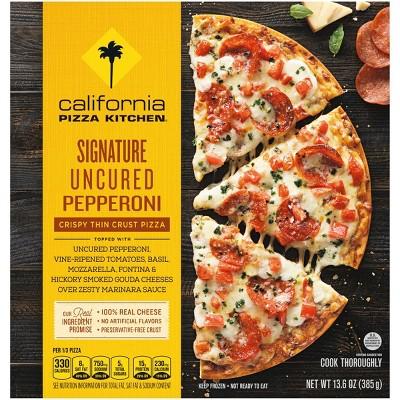 California Pizza Kitchen Crispy Thin Crust Signature Pepperoni Frozen Pizza - 13.6oz