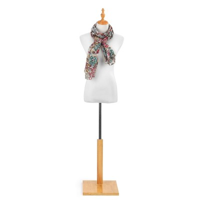 DEMDACO KF Rectangle Scarf - Abstract Floral One Size - Multi
