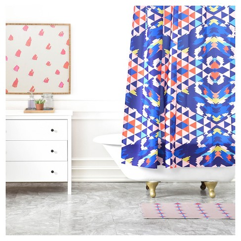 Holli Zollinger Geo Nomad Bright Shower Curtains - Deny Designs® - image 1 of 2