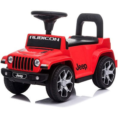 Best Ride On Cars Baby Toddler Jeep Rubicon Push Car Riding Toy Vehicle for Kids Ages 1 to 3 Years Old, Red