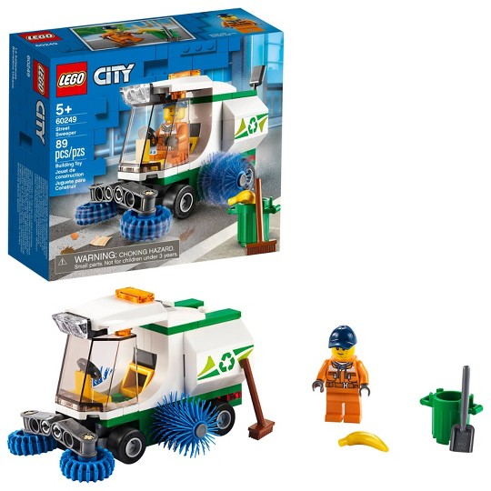 LEGO City Street Sweeper 60249 Cool Construction Building Set image number null