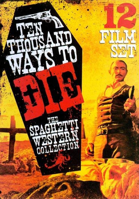 10,000 ways to die:Spaghetti western (DVD) - image 1 of 1