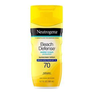 Neutrogena Beach Defense Broad Spectrum Sunscreen Body Lotion - SPF 70 - 6.7oz
