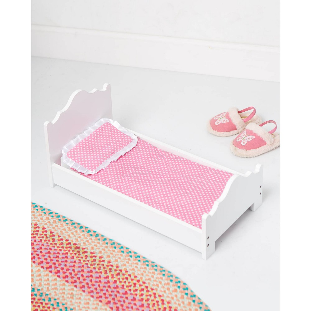 Image of Doll Single Bed White - Wildkin