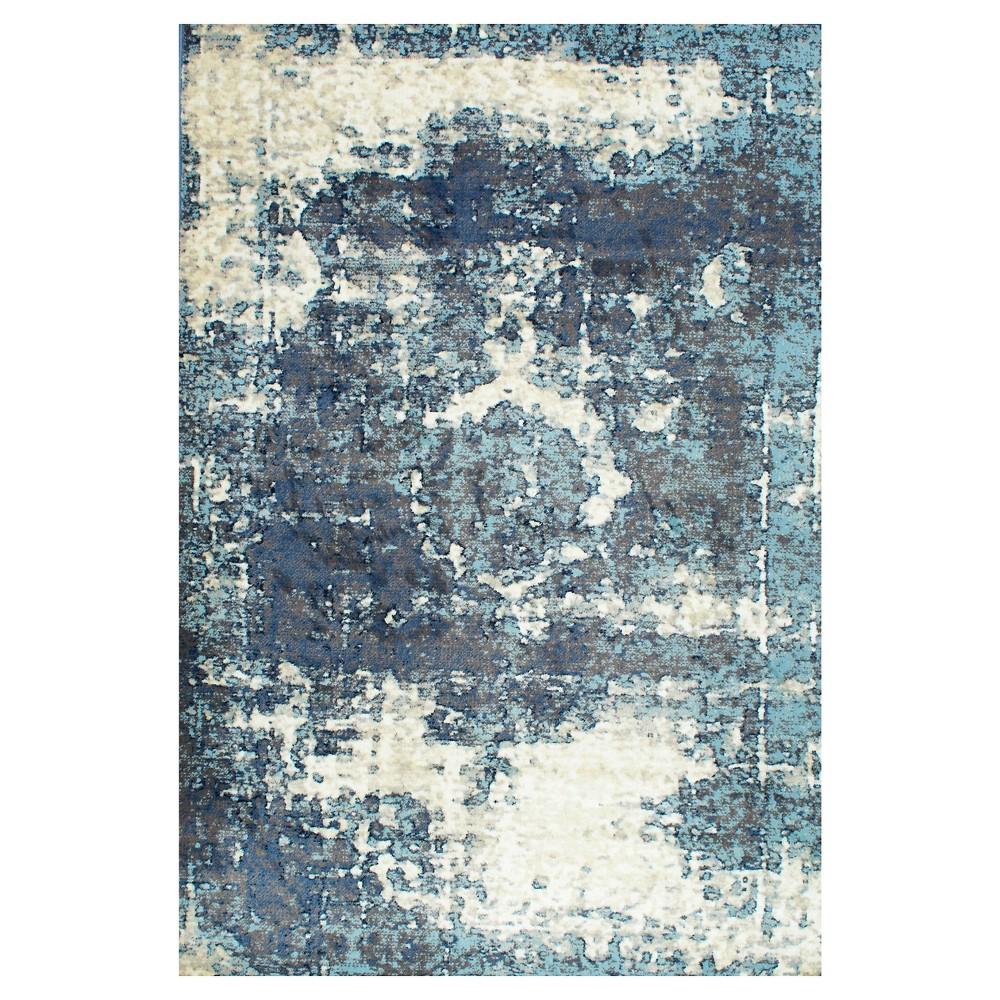 Blue Solid Loomed Area Rug - (9'11x14') - nuLOOM