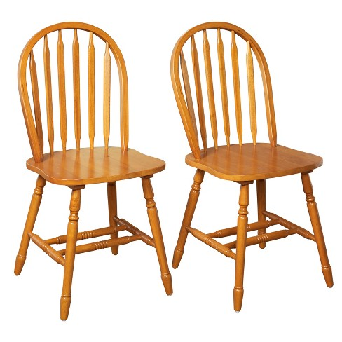 Set of 2 Carolina Windsor Dining Chair - Buylateral - image 1 of 3