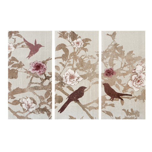 "Songbird Gel Coat Canvas 3pc Set Natural 30""x15"" - image 1 of 6"