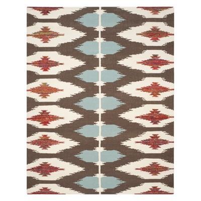 8'X10' Geometric Design Woven Area Rug - Safavieh