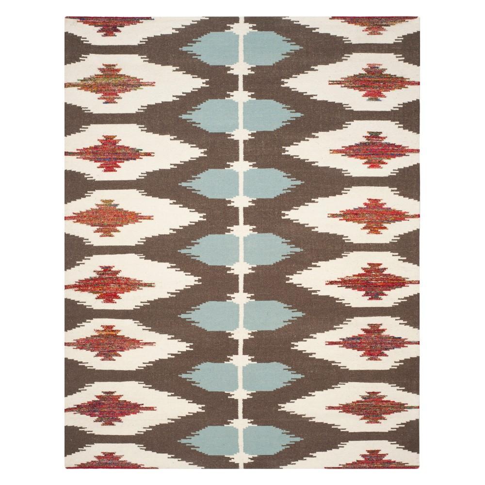 8'X10' Tribal Design Woven Area Rug - Safavieh, Multi-Colored
