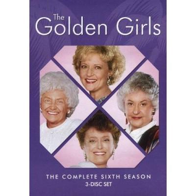 The Golden Girls: Season Six (DVD)(2016)