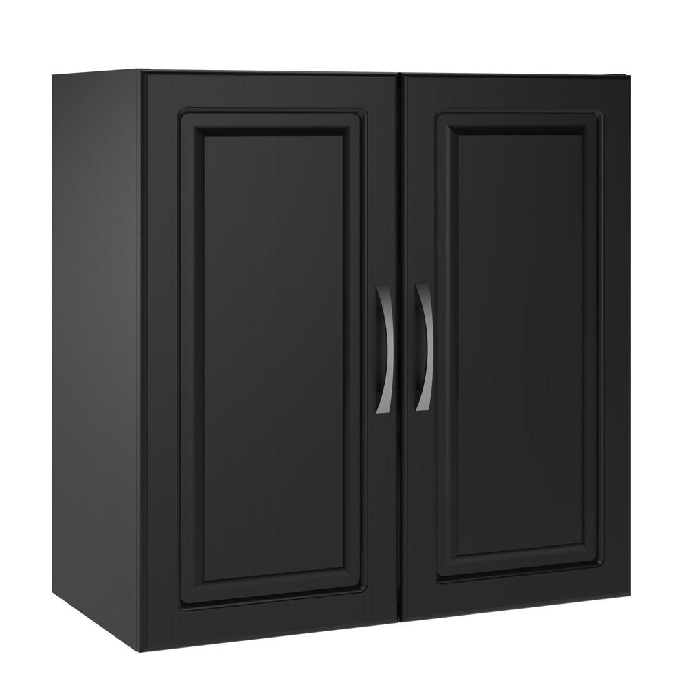 "Image of ""24"""" Boost Wall Cabinet Obsidian Black - Room & Joy"""