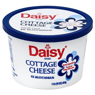 daisy brand cottage cheese small curd 4 milkfat minimum 16oz target rh target com daisy brand cottage cheese commercial daisy brand cottage cheese commercial