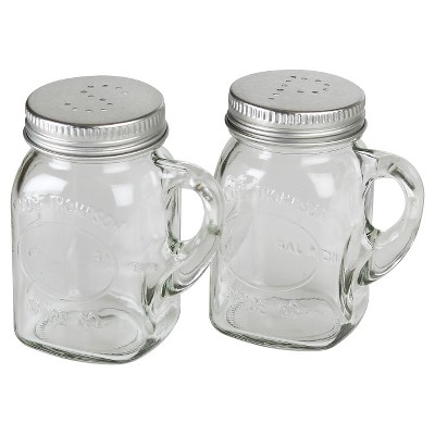 Olde Thompson® Mason Jar Salt & Pepper Set