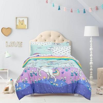 Magical Unicorn Super Soft Bed in a Bag - Kidz Mix