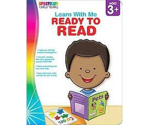 Learn With Me: Ready to Read (Paperback) - image 1 of 1