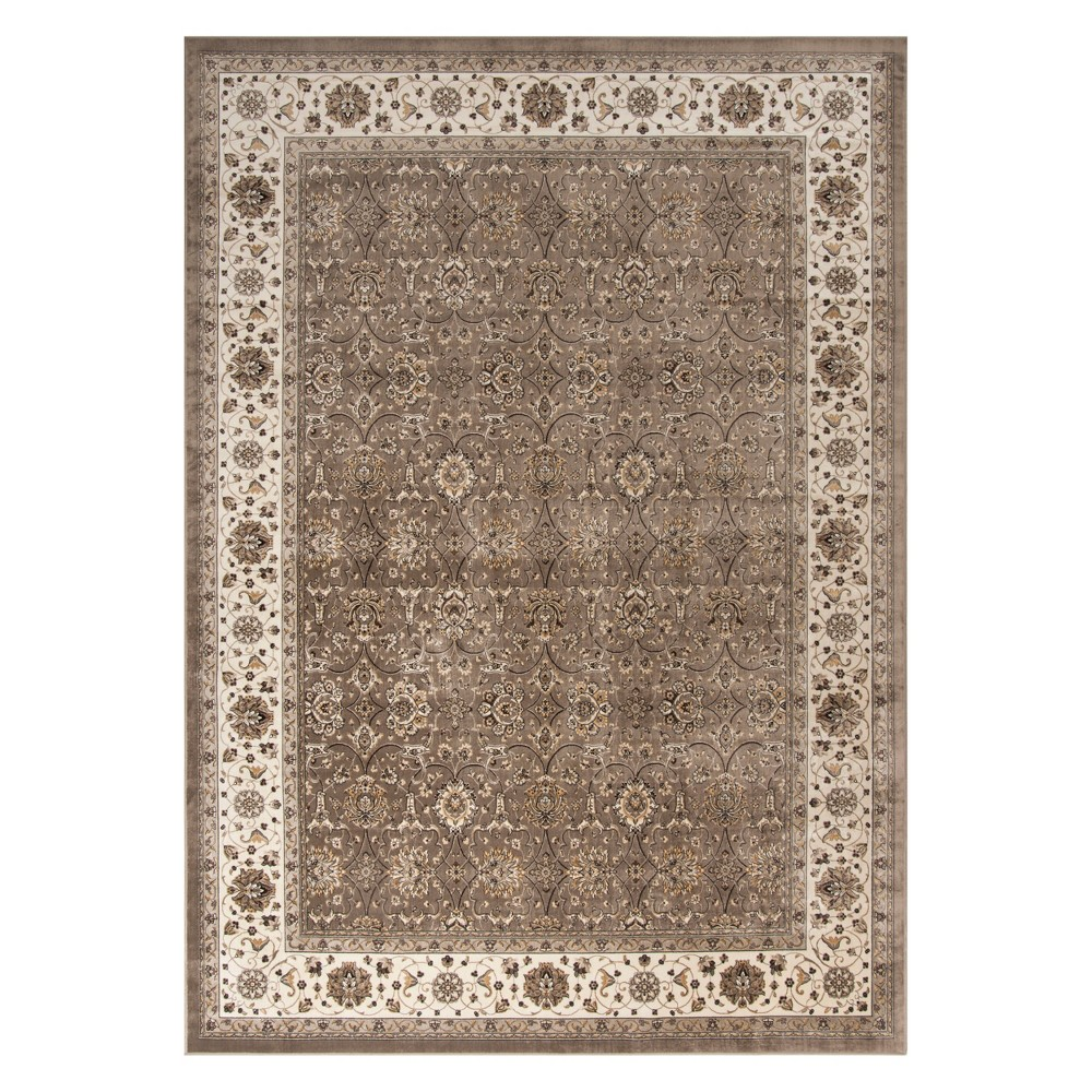 8'X10' Medallion Loomed Area Rug Silver/Ivory - Safavieh, White Silver