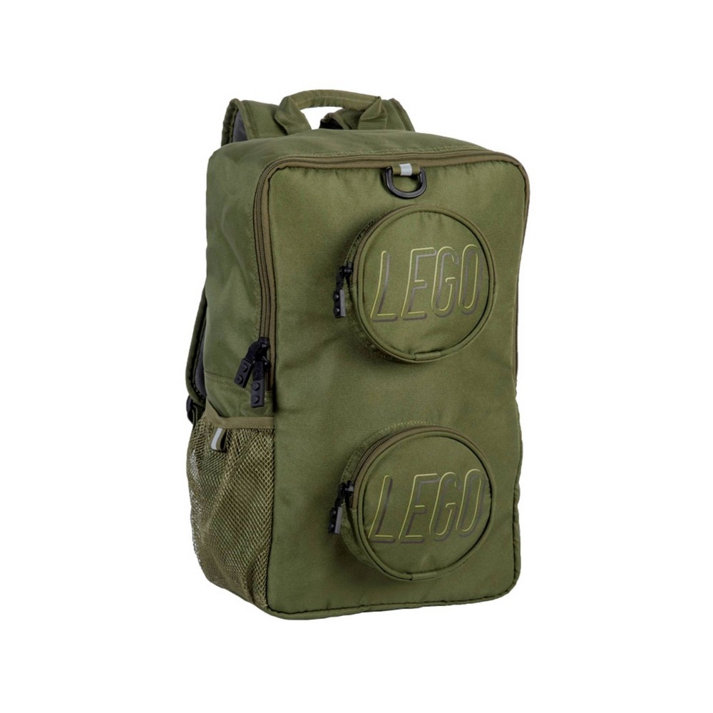 """Image of """"LEGO 16"""""""" Backpack - Army Green"""""""