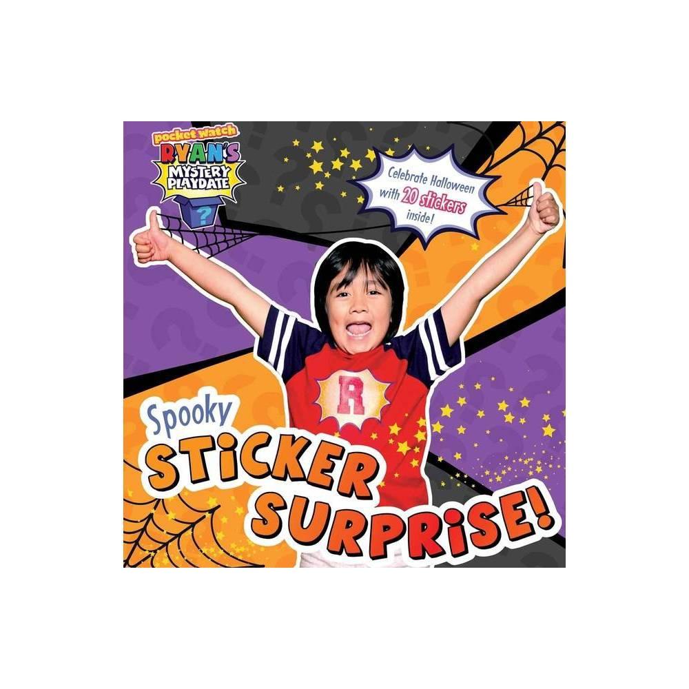 Spooky Sticker Surprise Ryan S Mystery Playdate By Ryan Kaji Paperback