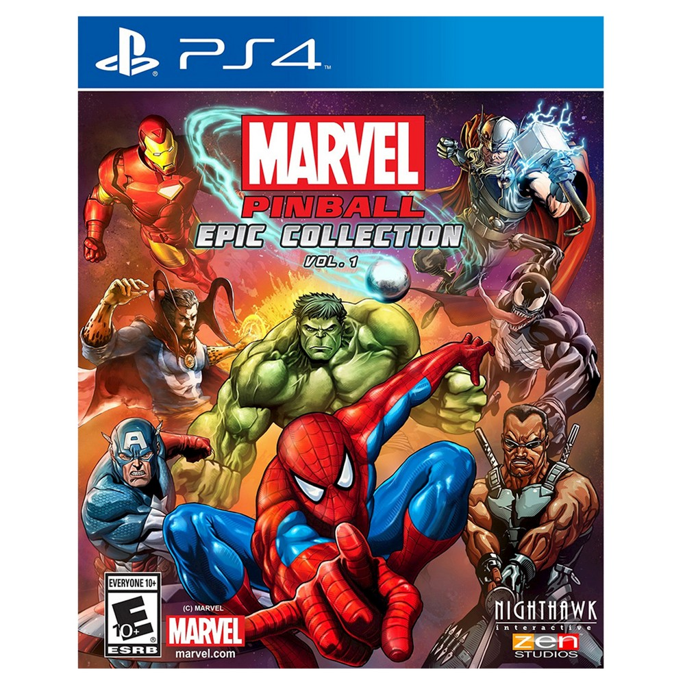 Marvel Pinball: Epic Collection Vol. 1 PlayStation 4