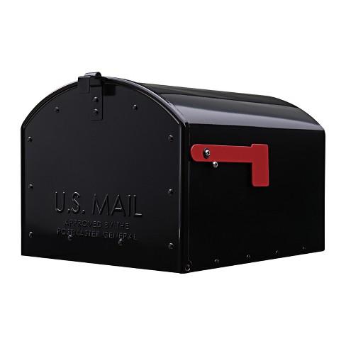 Gibraltar Mailboxes Storehouse Post Mount Mailbox Black - image 1 of 4