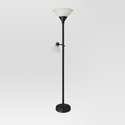 Mother Daughter Floor Lamp Black Includes Energy Efficient Light Bulb - Threshold™