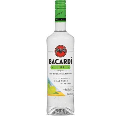 Bacardi Lime Flavored Rum - 750ml Bottle