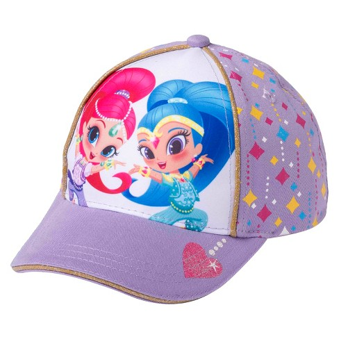 Toddler Girls' Shimmer & Shine® Baseball Hat - Purple - image 1 of 1