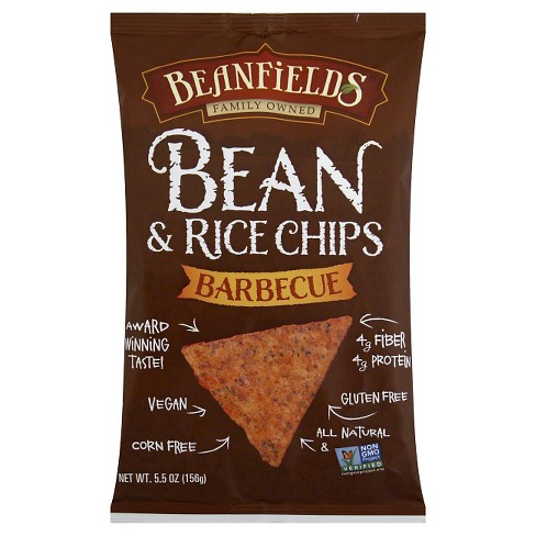 Beanfields Barbecue Bean and Rice Chips 5.5 z 12 pk - image 1 of 1