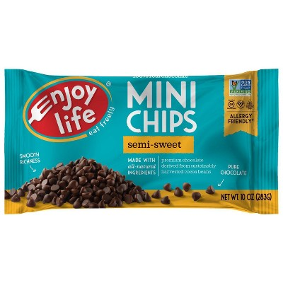 Baking Chips & Chocolate: Enjoy Life Semi-Sweet Mini Chips