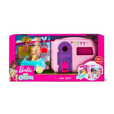 Barbie Chelsea Camper Playset