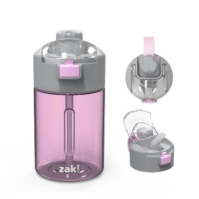 Zak 12 24 32 64 oz. Plastic Water Bottle Durable Tritan 2-In-1 Lid  Portable Carry Strap Leak-Proof Design Outdoor Sports BPA Free Genesis Bottle