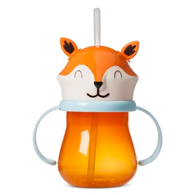Fox 9.5oz Sippy Cup Orange - Pillowfort™