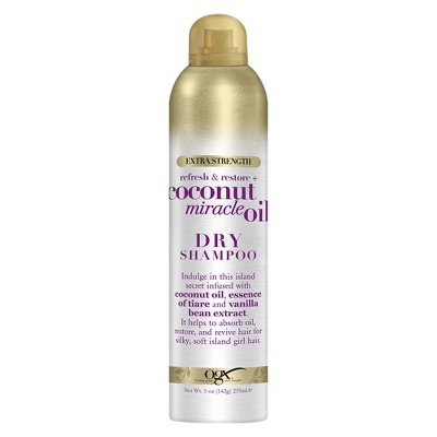 Dry Shampoo: OGX Coconut Miracle Oil