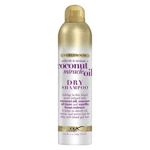 OGX Refresh & Restore + Coconut Miracle Oil Dry Shampoo - 5oz - image 1 of 4
