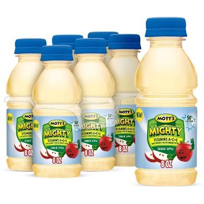Mott's Mighty Original Apple Juice Drink - 6pk/8 fl oz Bottles