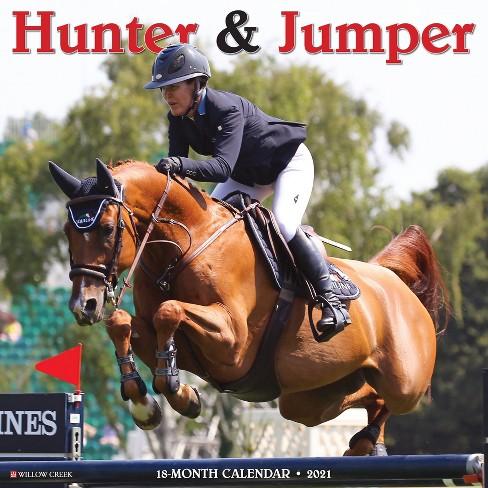 Hunter Fall 2021 Calendar 2021 Monthly Wall Calendar Hunter & Jumper   Willow Creek Press