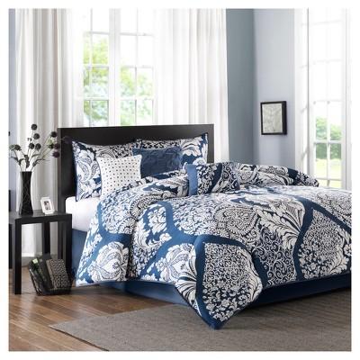 Adela 7 Piece Cotton Printed Comforter Set