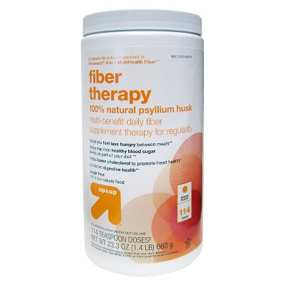 Fiber Therapy Supplement - Smooth Orange Flavor - 23.3oz - up & up™