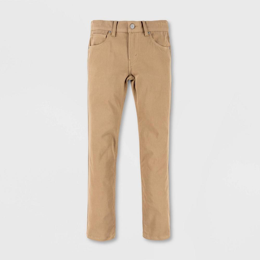 Levi 39 S 174 Boys 39 512 Slim Taper Fit Wonder Knit Chino Pants Harvest Gold 5