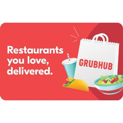 Grubhub Gift Card ( Email Delivery)